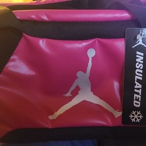 Jumpman insulated lunch tote